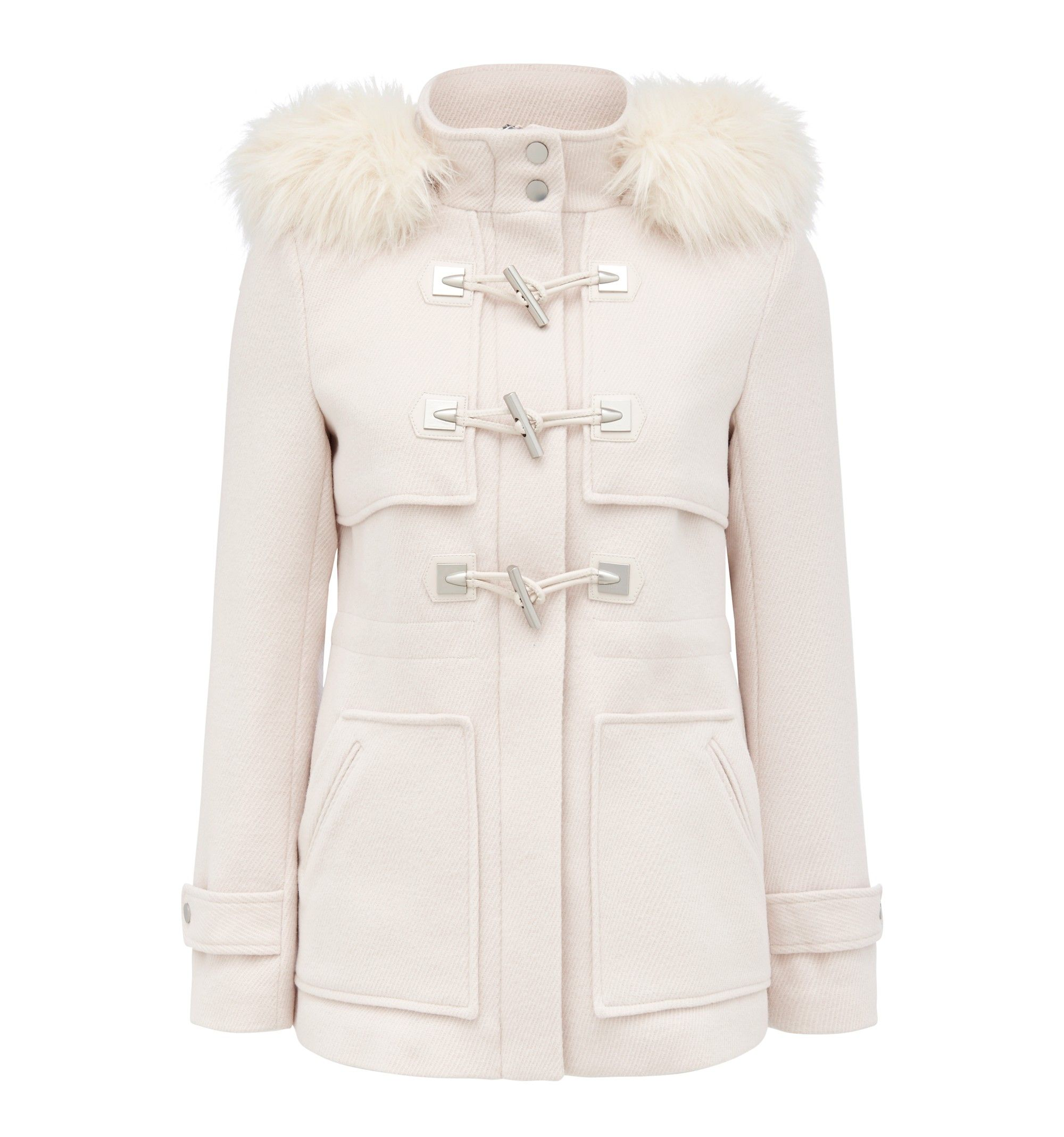 Clara swing duffle coat Cream - Womens Fashion | Forever New ...