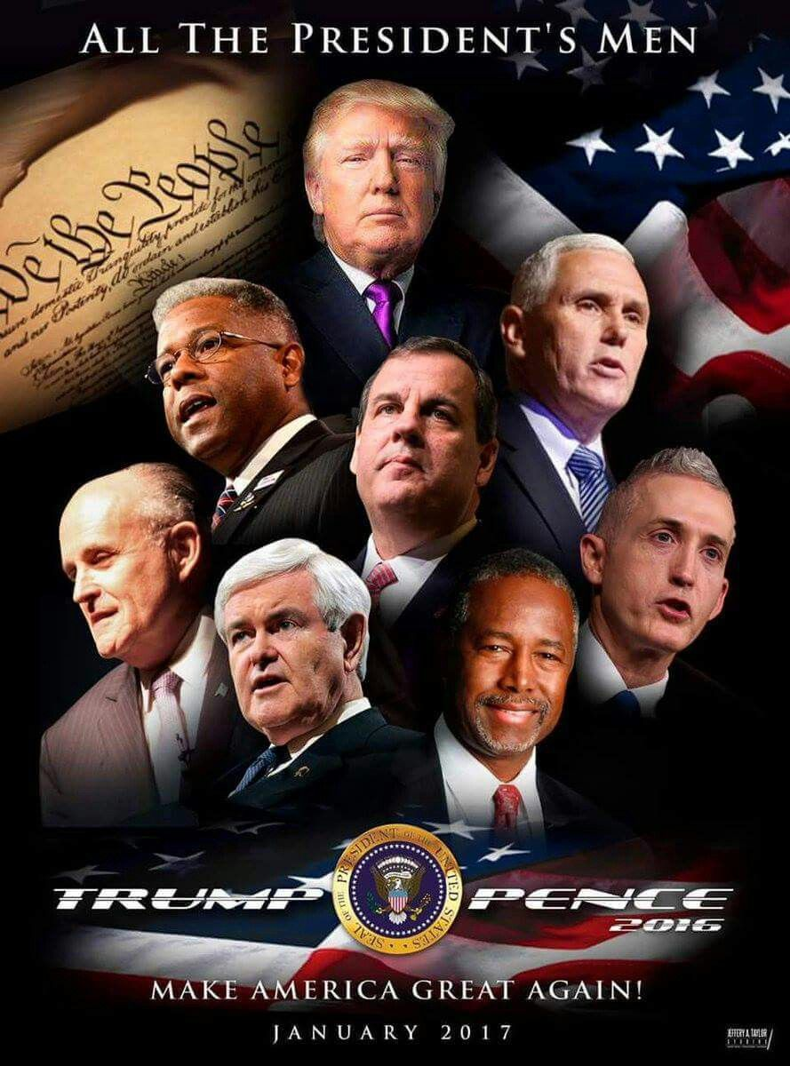 """Dream Team Wishes.....MAY """"GOD"""" BLESS THEM ALL ON AND OFF THEIR JOBS IN WASHINGTON."""