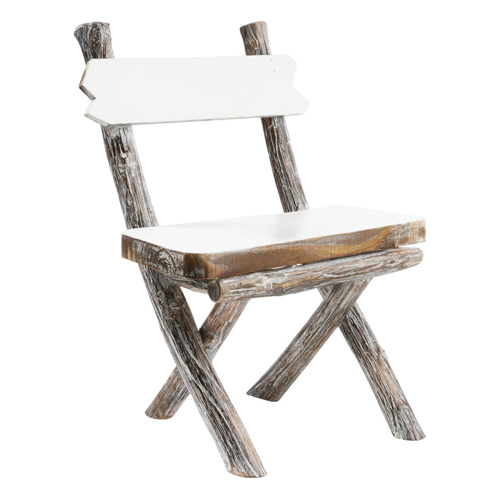 Deko-Holz-Stuhl   Wohndekoration bei Strauss Innovation ...