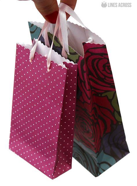 Diy cow easter egg scrapbook paper scrapbook and paper gift bags homemade scrapbook paper gift bags lines across negle Gallery
