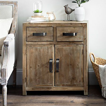 Natural Brown Rustic Wooden Cabinet | Wooden cabinets ...