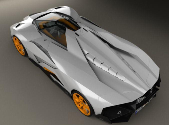 Lamborghini Egoista Cars Lamborghini Model Vehicles