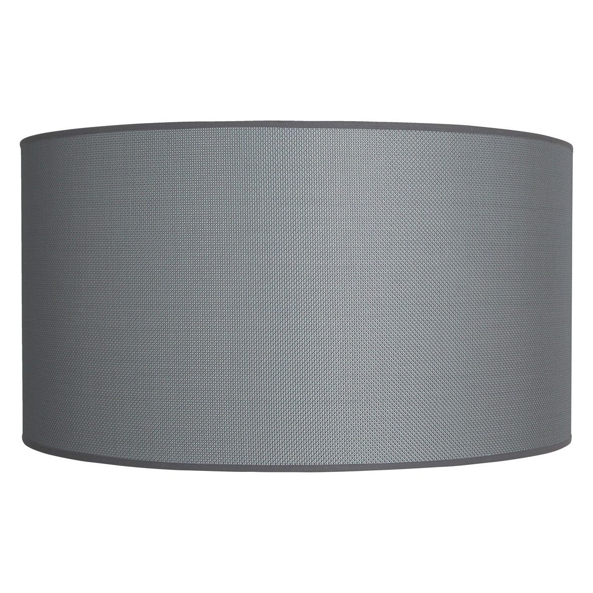 Jacks Grey Mesh Drum Lamp Shade D45 X H24cm