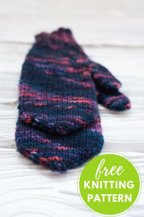Handful of Berries Mittens Free Knitting Pattern | Mittens, Berries ...