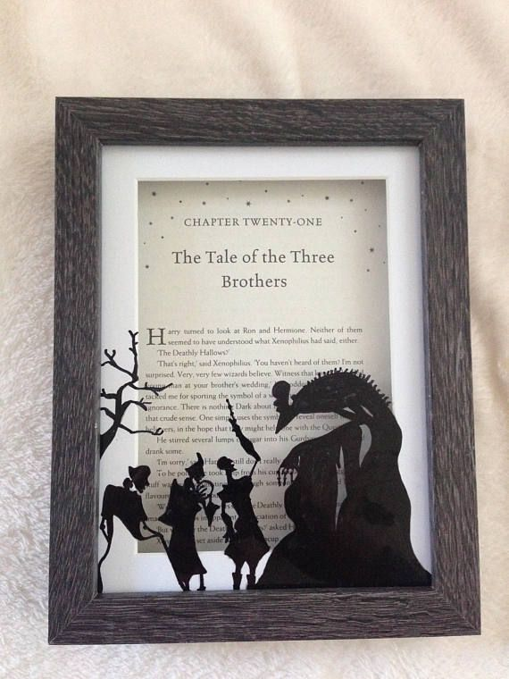 Frame for Marisa. tale of the three brothers chapter title page ...