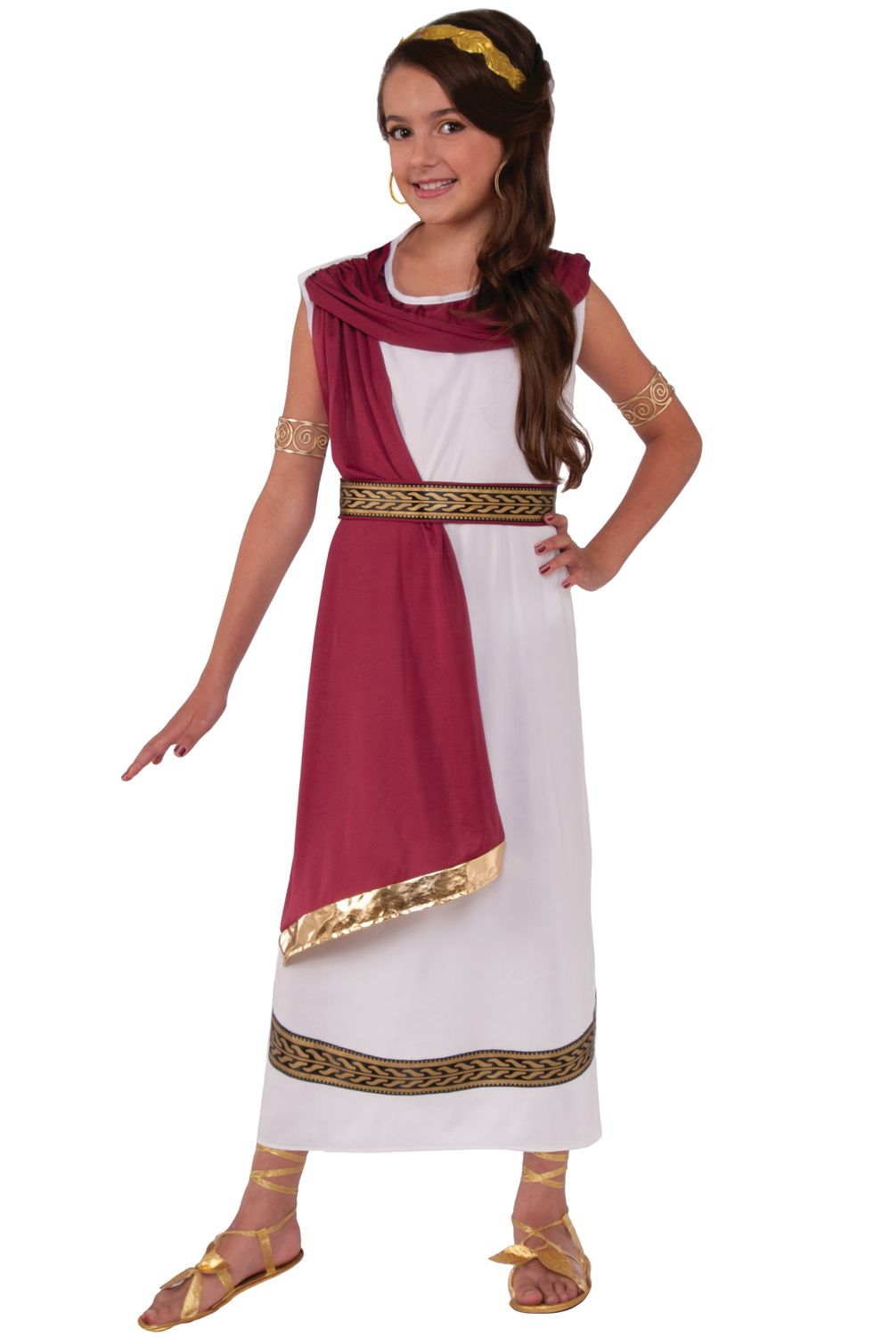 41dcbafe3 Ruby Greek Goddess Child Costume (Medium) | HESTIA | Greek goddess ...