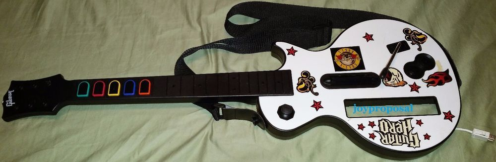 Guitar hero gibson les paul guitar controller for the wii