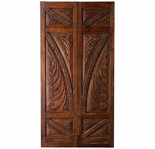 Portera Antique Spanish Doors - Nice woodwork! - Portera Antique Spanish Doors - Nice Woodwork! Doors And Windows