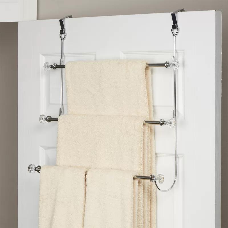 3 Tier Over The Door Towel Rack In 2020 Towel Rack Towel Rack
