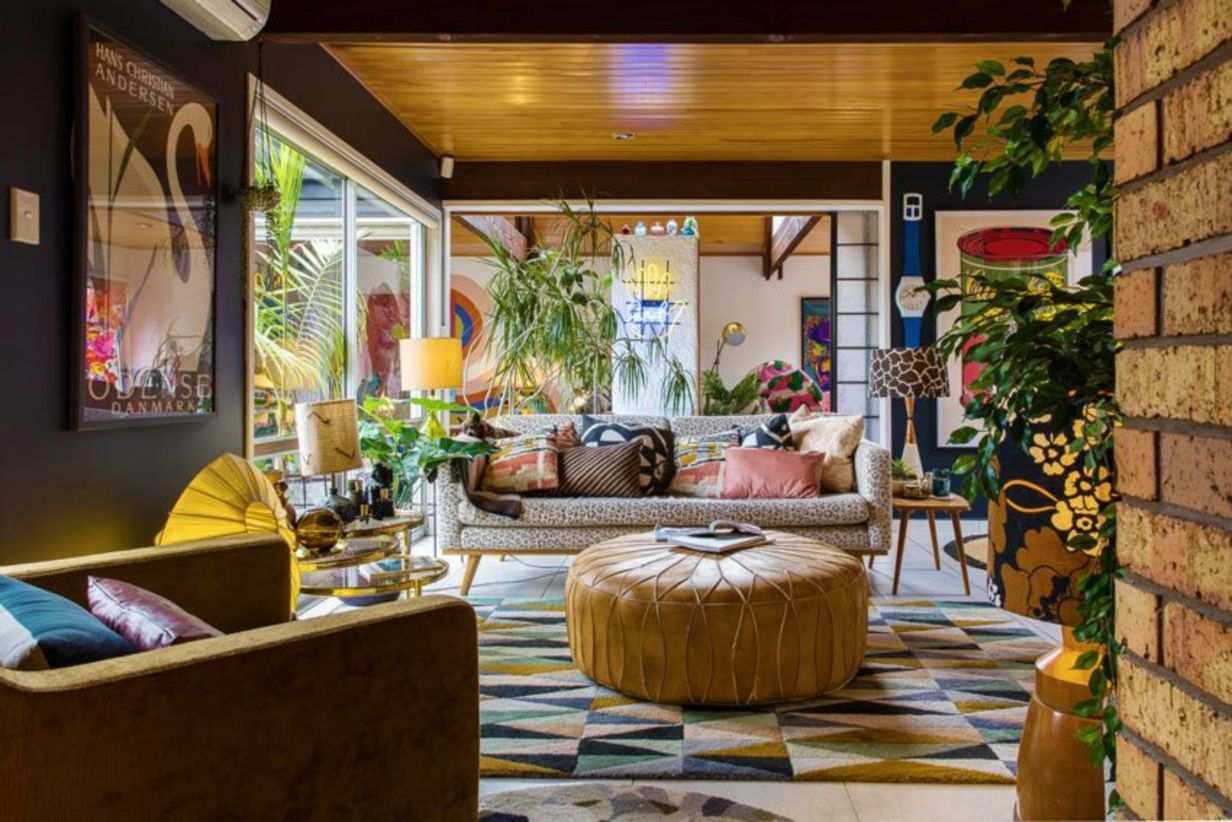 45 The Best Artistic Living Room Design Matchness Com House Colors Eclectic Decor Colourful Living Room