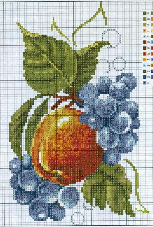 Pin de Perihan Sezer en Boncuk işi   Pinterest   Fruta, Punto de ...