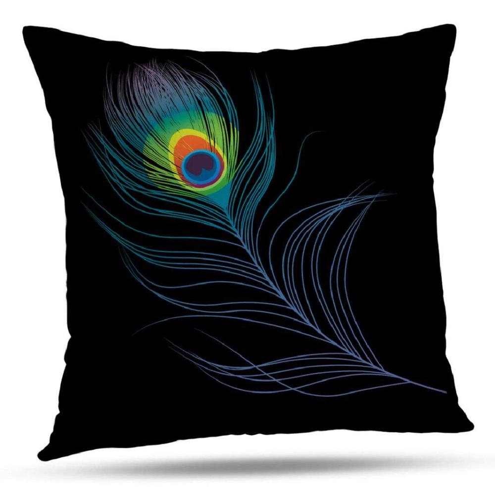 Kjong Feather Pea Decorative Pillow