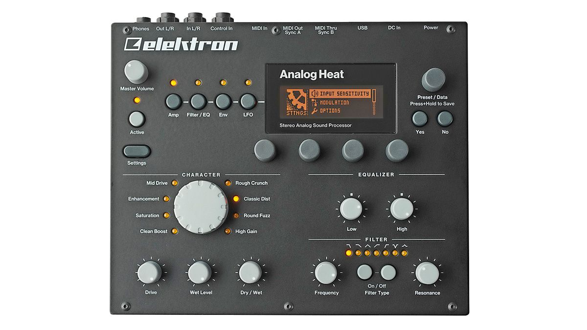 Elektron's stereo effects box puts distortion up front and centre