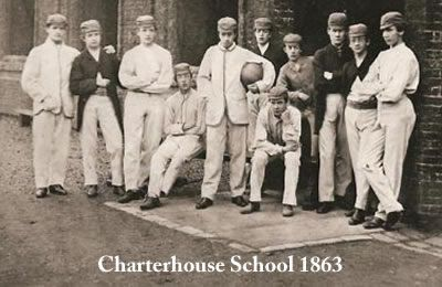 Image result for charterhouse school football 1860