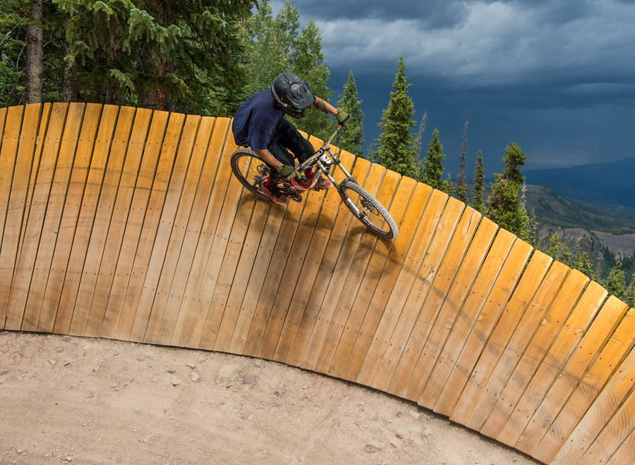 Valhalla Mountain Bike Trail at Aspen / Snowmass by Mike Lyons, via 500px