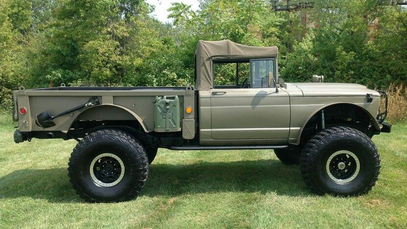 pin by jeepster kommando on kaiser jeep m715 m715