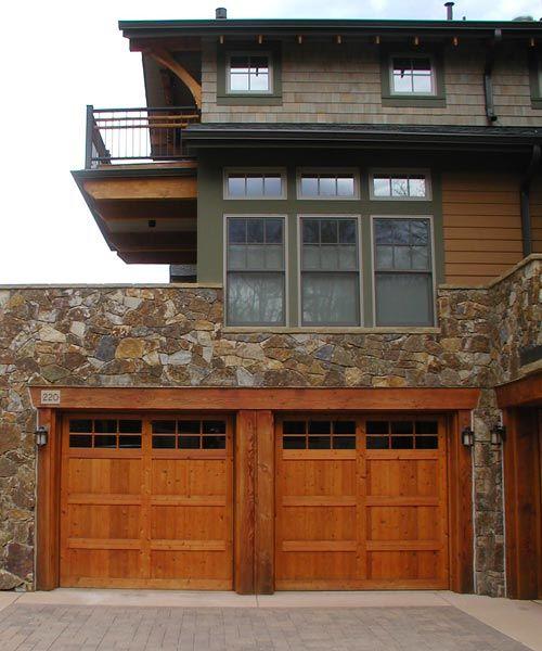Custom Wood Garage Doors In Boulder Co Garage Doors Custom Wood Garage Doors Wood Garage Doors