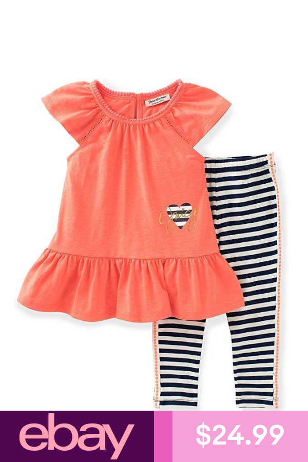 Juicy Couture Toddler Little Girls 2pc Tunic Legging Set 2t 3t 4t 4 5 6 6x Girls Couture Juicy Couture Girl Fashion