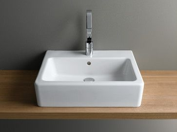 Bathroom Sinks London bathroom sinks |  nuo rectangular basin - bathroom sinks