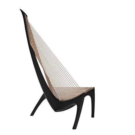 """Mandags-Misundelsen - Den mest fantastiske danske designstol """"Harpen"""" designet af Jørgen Høvelskov i år 1963!"""
