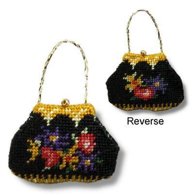 Dollhouse Needlepoint Handbag Kit Berlin Woolwork Kits