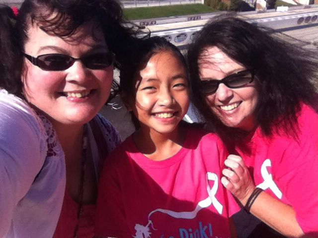 Walking for the Cure at Dover Downs 10/18/2014