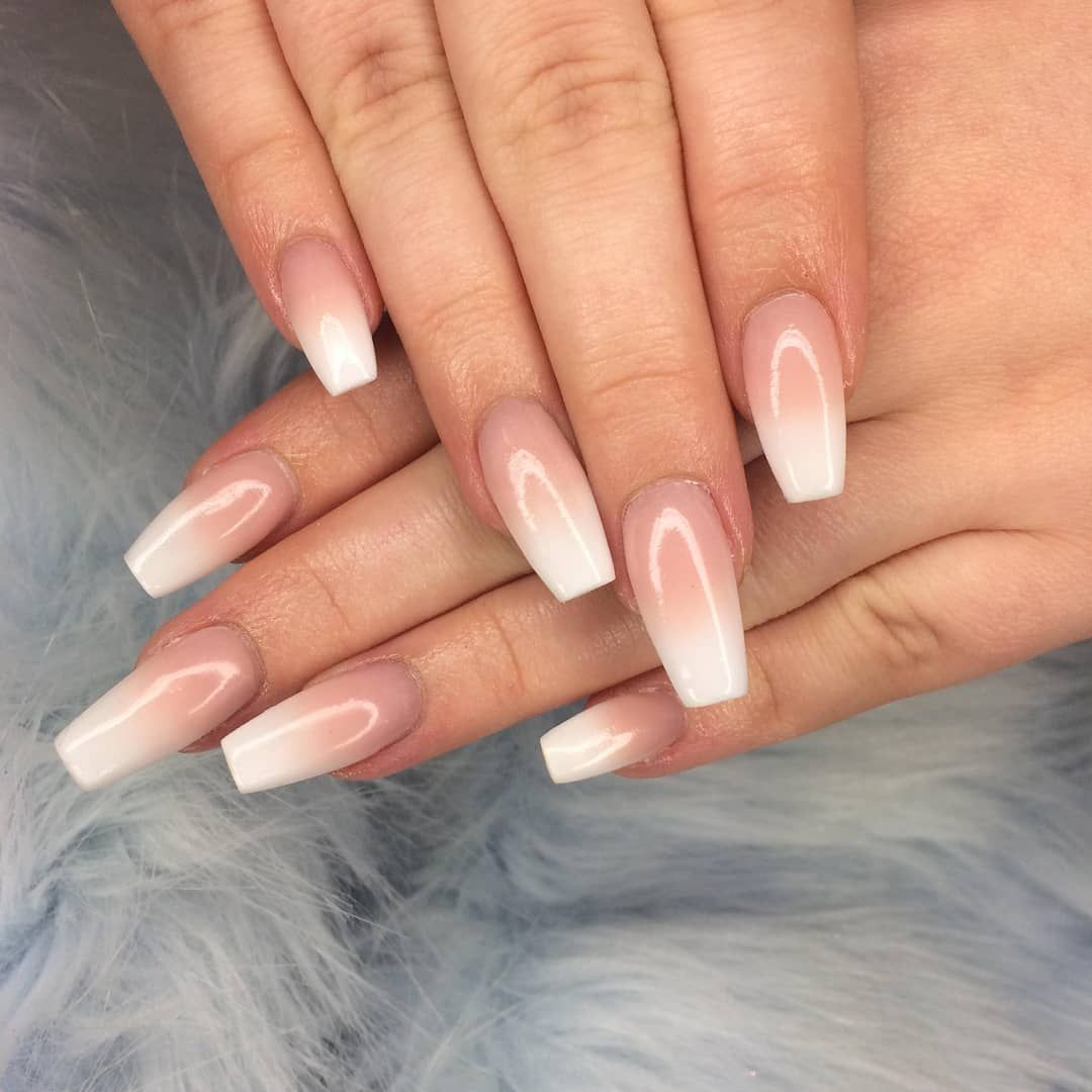 Baby Boomers Have Taken Over At Naf Our Salon Expert Nafamee Kills It Every Time With This Sleek Coffin Shape Coffin Shape Nails Graduation Nails Basic Nails