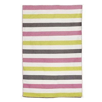 Caspar Stripe Outdoor Rug Green 5 X 7 6 Frontgate Products