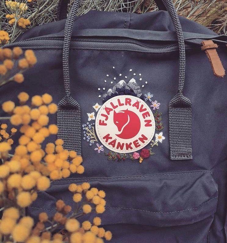 Kanken Stickerei- Kanken Stickerei Kanken Stickerei- # SchoolBag2019 #SchoolBag …