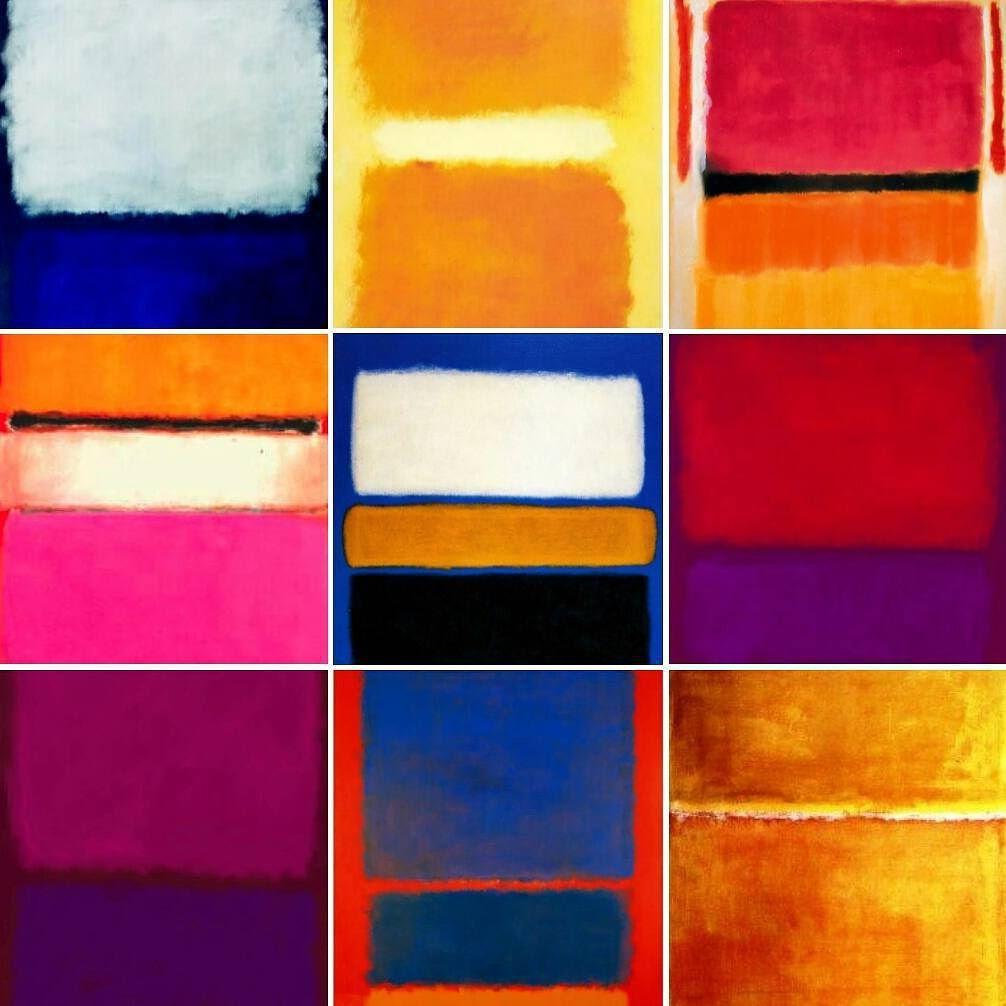 Mark Rothko collection  #beautifulpeopleliveart #contemporaryart #art #artlovers #artgallery #artwork #painters #paintings #markrothko #rothko #expressionism #abstractexpressionism #abstract #design #designlovers #designporn