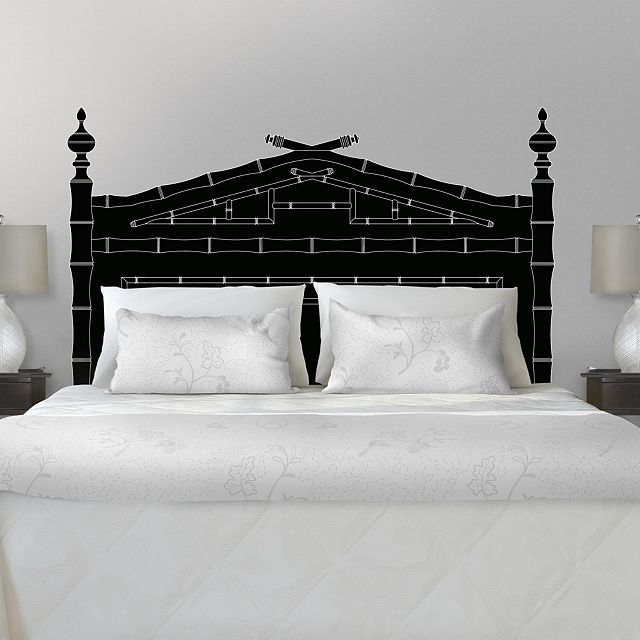 The Classic Bamboo Headboard Wall Decal From Fathead Is An Easy Decorating  Solution That Lets You Personalize Your Home Decor. Home Design Ideas