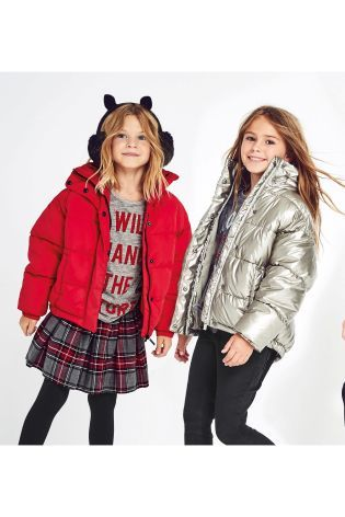 c96ad158f Buy Red Padded Jacket (3-16yrs) from the Next UK online shop ...
