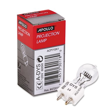 Apollo Replacement Bulb for Buhl/Bell&Howell/Eiki/Da-lite/3M