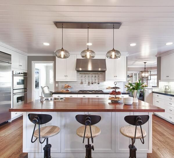 Houzz On Twitter Kitchen Renovation Trends Modern Kitchen Island Contemporary Kitchen