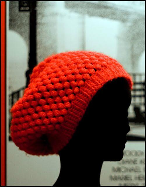 Boina Caida a Crochet - Ahuyama Crochet  4c04f8b8e48