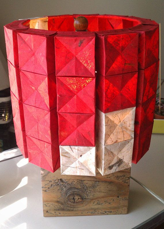 Paper Shade Lamps