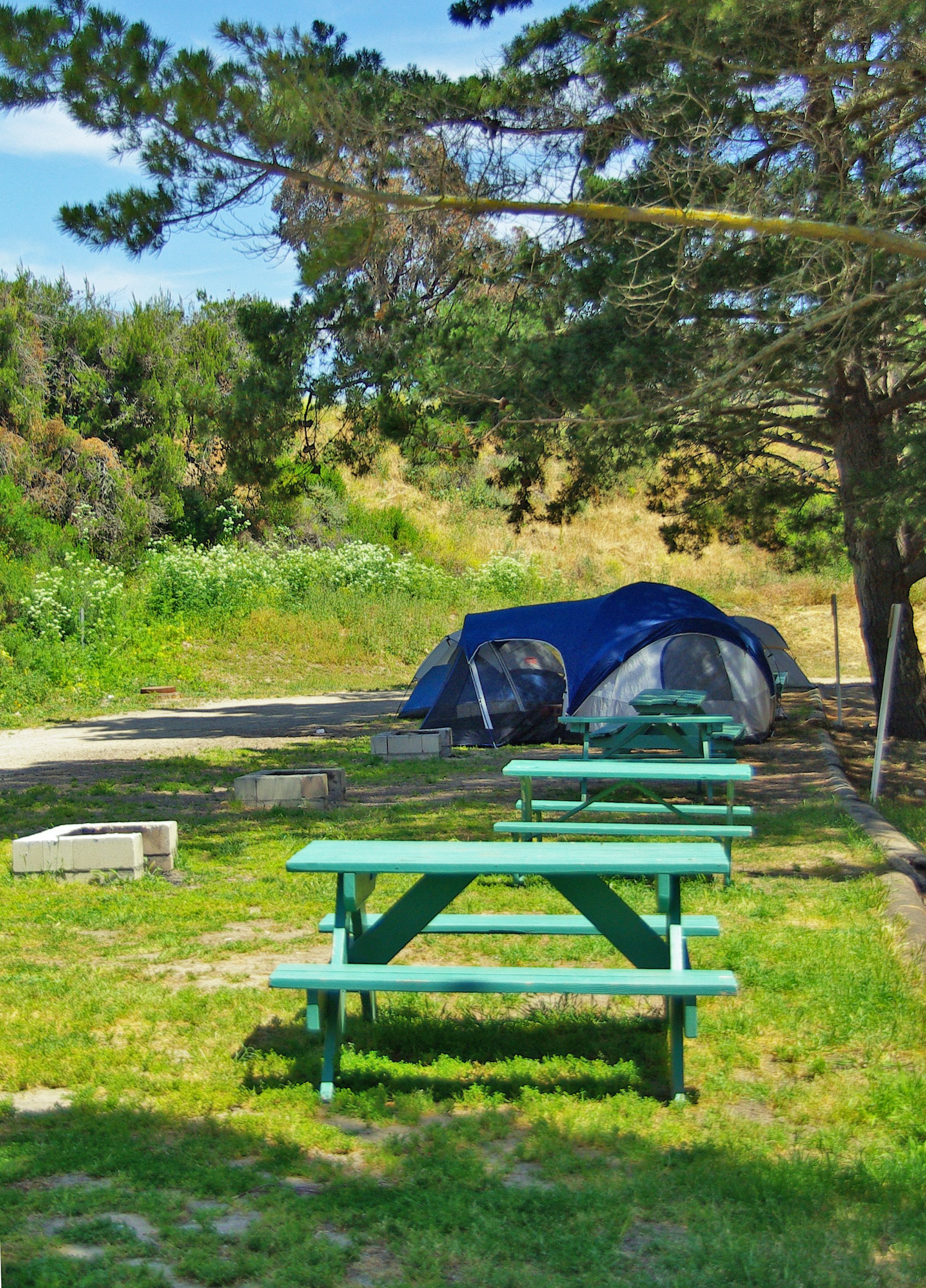 Tent Camping At The Avila Hot Springs Wow I Have Never Camped There And We Live So Close Good Idea