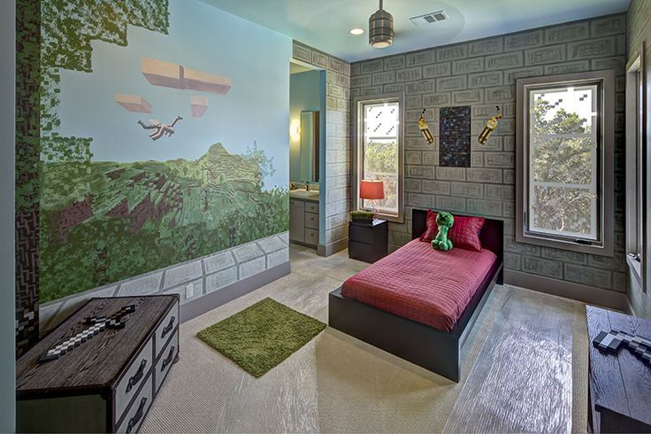 Minecraft bedroom designs 1