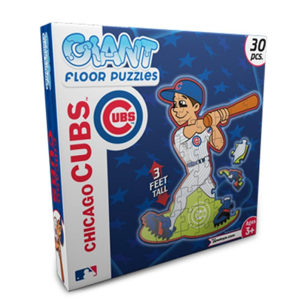 Floor Puzzles - Chicago Cubs