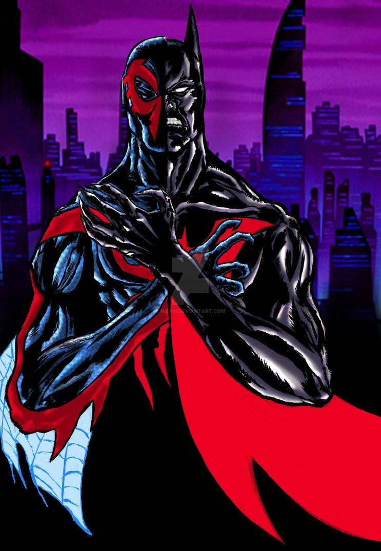 Batman Beyond/ Spider-man 2099 by nic011.deviantart.com on ...