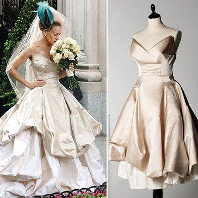 pelÍcula 1 - vestido de novia de vivienne westwood | satc | vestidos