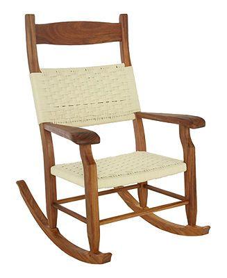 Miraculous Hatteras Outdoor Rocking Chair Single Rocker Furniture Short Links Chair Design For Home Short Linksinfo