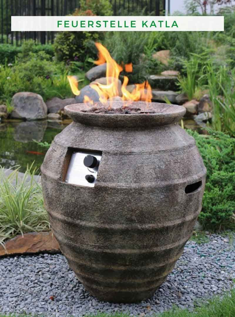 Feuerstelle Garten Gas Feuerstelle Katla Feuerstellegarten Feuerstelle Garten Feuerschale Langsam Sinken Die Tempera Fire Pit Fire Pit Fuel Propane Fire Pit
