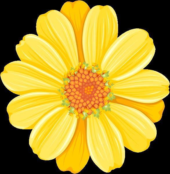 Yellow Daisy Png Transparent Clip Art Image Clip Art Art Images Art