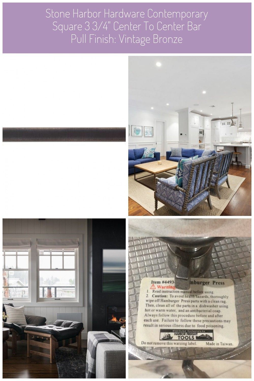 Stone Harbor Hardware The Contemporary Square Pull Is The Ideal Accessory For The Modern Kitchen Or Bath It Coordinates With The Rest Of The Stone Harbor Contem
