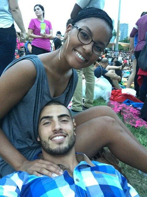 Interracial dejting svart och latino