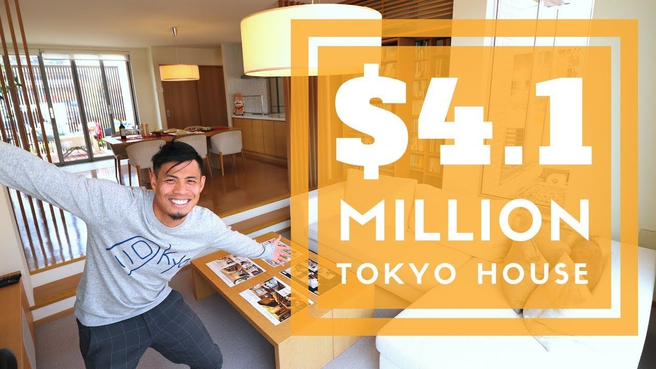4 Million Tokyo House Tour W Japanese Home Building Cost