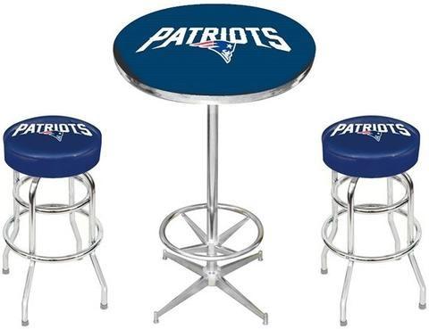 New England Patriots Nfl Pub Table Set Sports Fans Plus