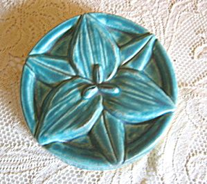 Pewabic Pottery Flower Tile For Sale At More Than Mccoy On Tias Pewabic Pottery Flower Tile Pottery Art