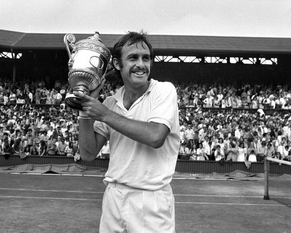 Stan Smith 1971 Mens Singles Final Defending Champion Australias John